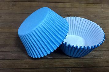 Капсулы бумажные синие