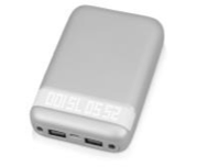 Портативное зарядное устройство «Argent» 10000мА/ч, Серый