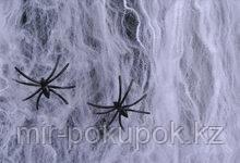 Декоративная марлевая паутина на Хэллоуин Spider webs , Алматы