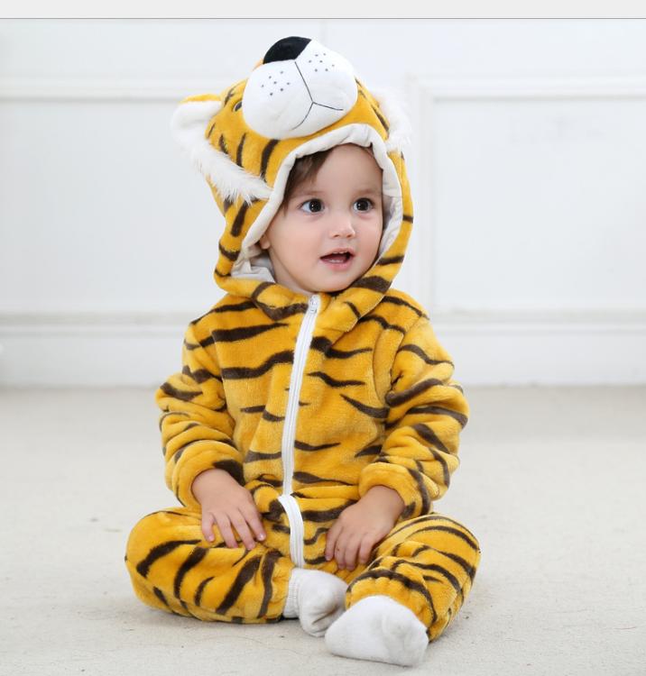 Пижама кигуруми тигр для малышей