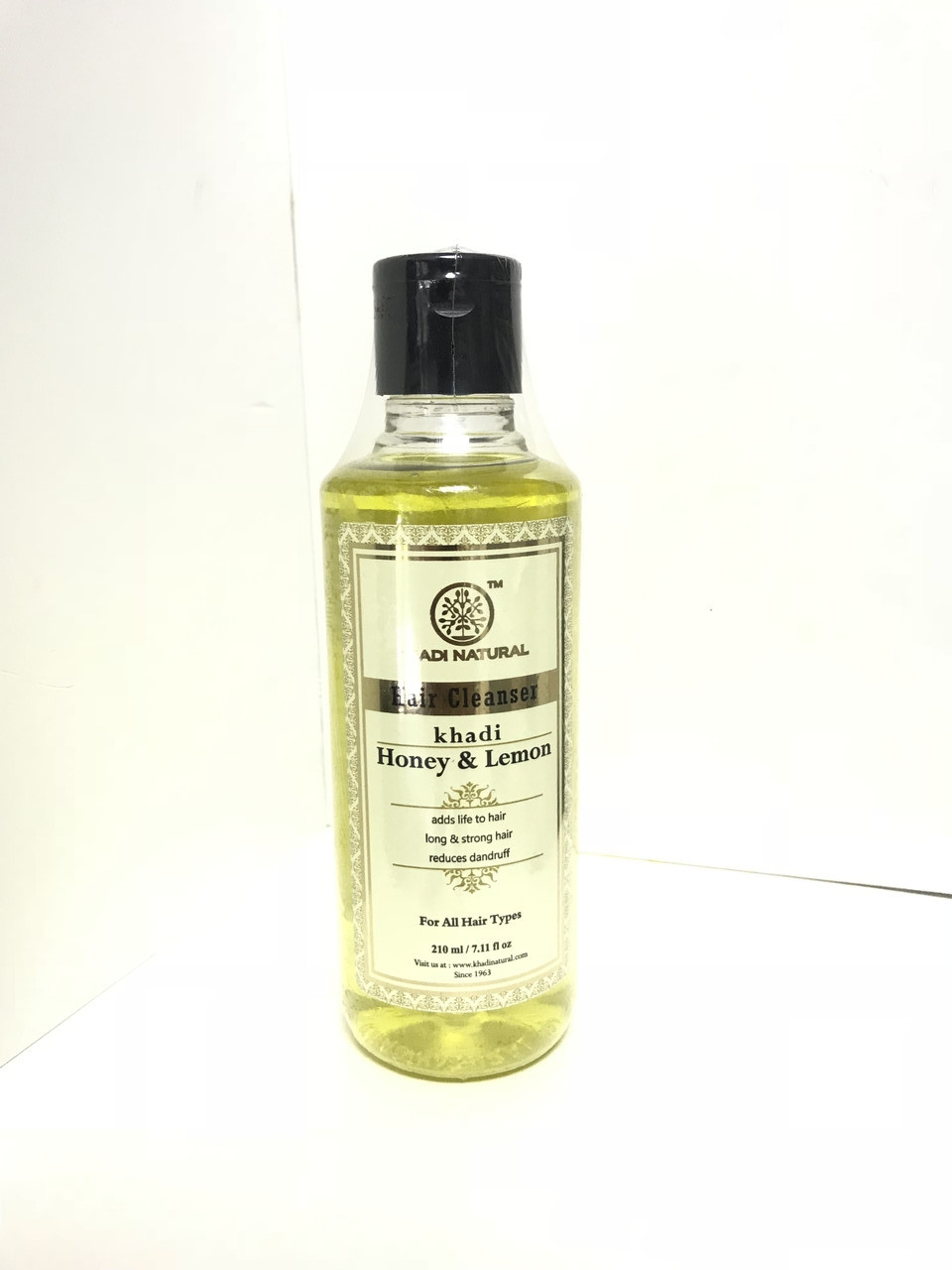 "Шампунь Кхади ""Мед и Лимон"" Khadi shampoo ""Honey and lemon """