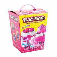 Кинетический песок Play Sand Birthday Cake Set