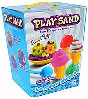 Кинетический песок Play Sand Ice Cream Shoppe