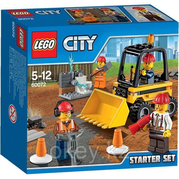LEGO City: Набор «Строительная команда» для начинающих 60072