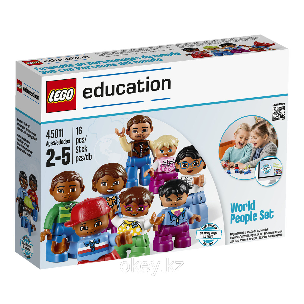 Lego Education Duplo: Люди мира 45011