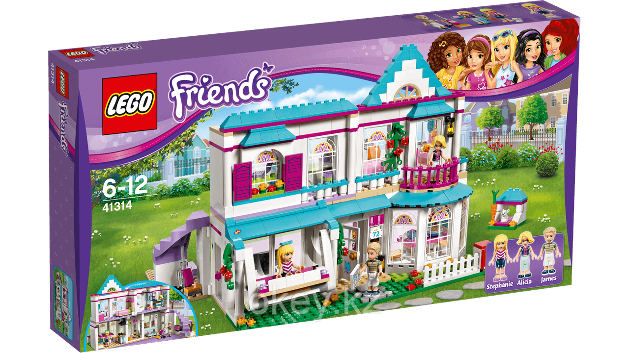LEGO Friends: Дом Стефани 41314