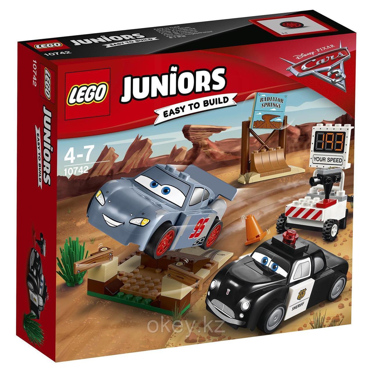 LEGO Juniors: Тренировочный полигон Вилли Бутта 10742