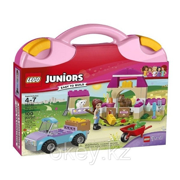 LEGO Juniors: Чемоданчик «Ферма Мии» 10746