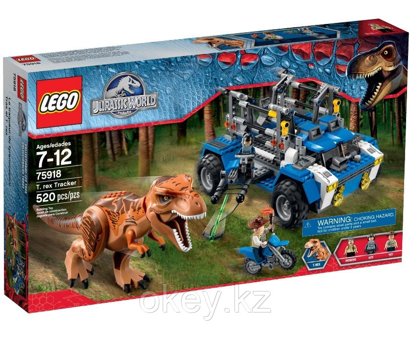 LEGO Jurassic World: Охотник на тираннозавра (Охота на Ти-рекса) 75918