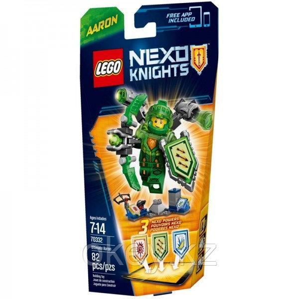 LEGO Nexo Knights: Аарон – Абсолютная сила 70332