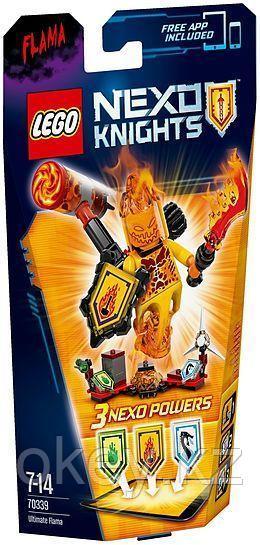 LEGO Nexo Knights: Флама — Абсолютная сила 70339