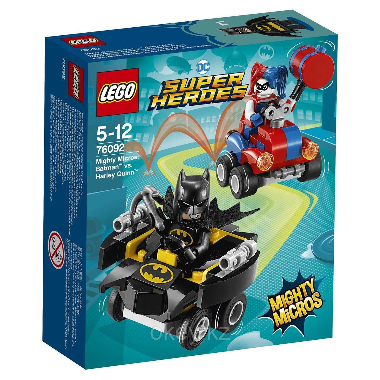 LEGO Super Heroes Mighty Micros: Бэтмен против Харли Квин 76092