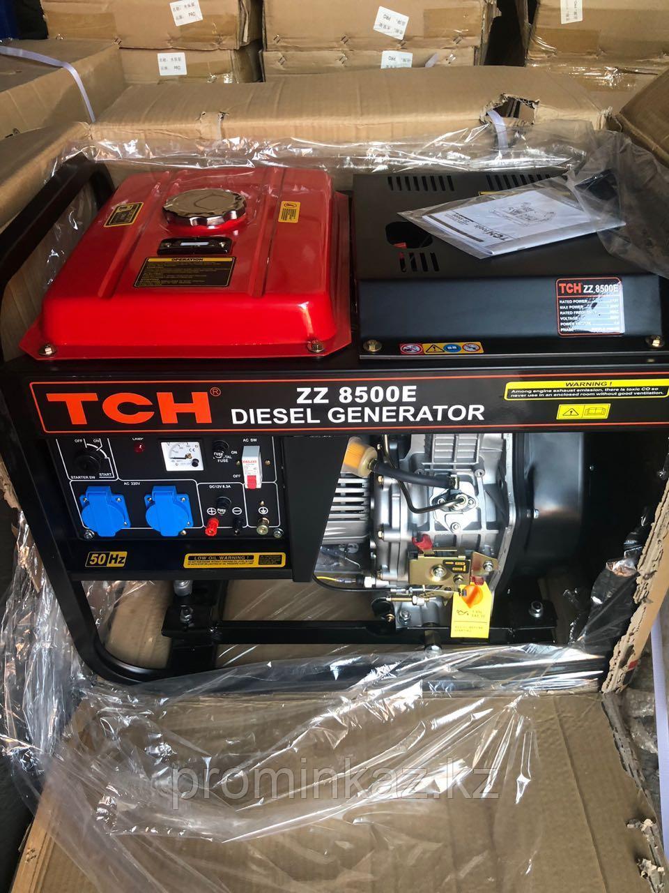 Дизельный генератор TCH 8500E -7,5кВт, 220В