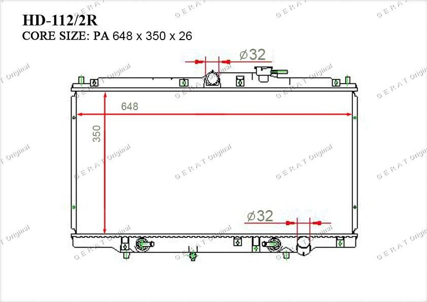 Радиатор основной 25310H1301