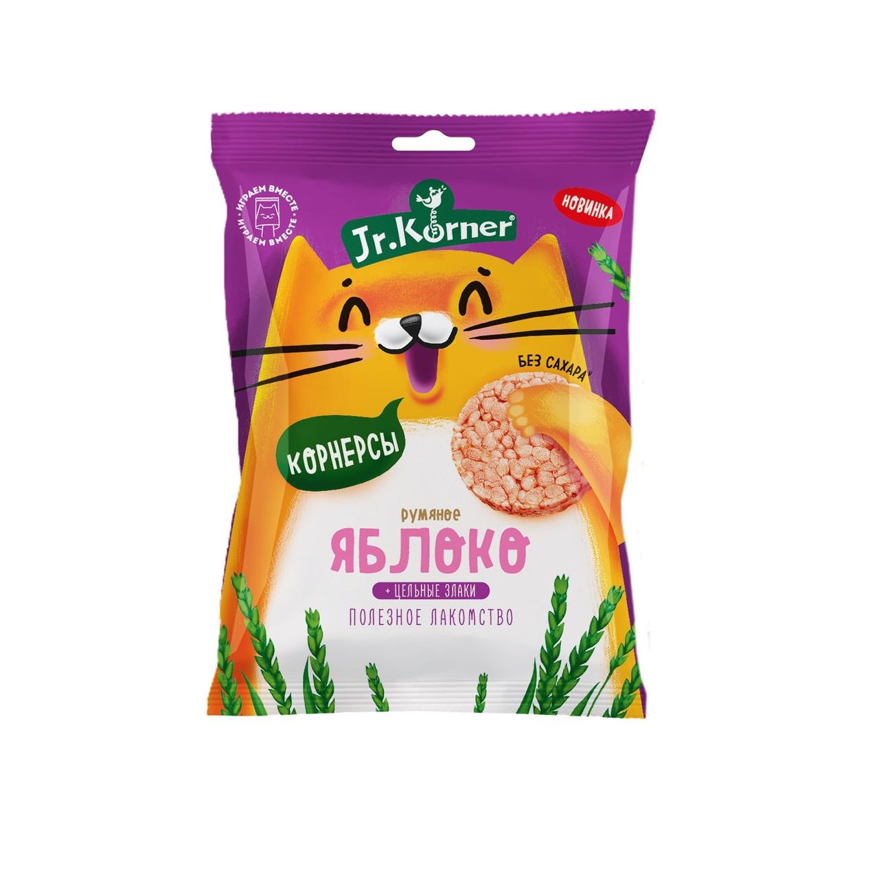 Рисовые мини хлебцы для детей с яблочным соком