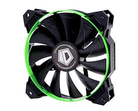Кулер для корпуса ID-Cooling SF-12025-(R)G Green 120x120x25mm 800-2000+10%RPM