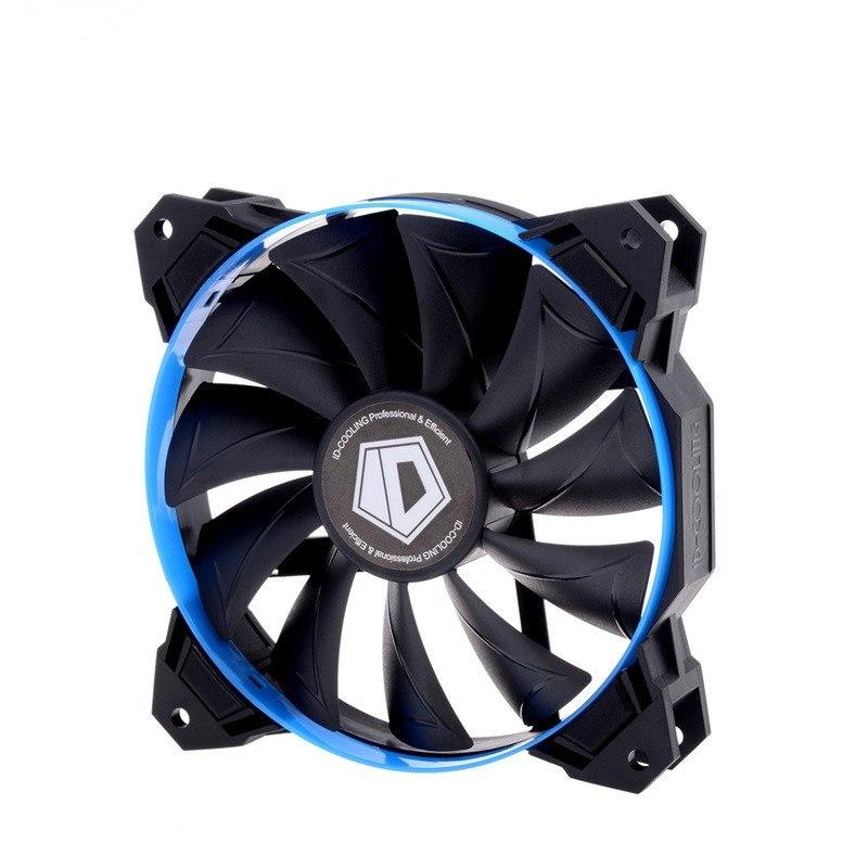 Кулер для корпуса ID-Cooling SF-12025-B Blue 120x120x25mm 800-2000+10% RPM