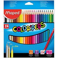 Набор цветных карандашей Maped 24 цвета