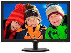 Монитор Philips 223V5LSB/62 21.5/1920 x 1080FHD/TN/VGA Черный