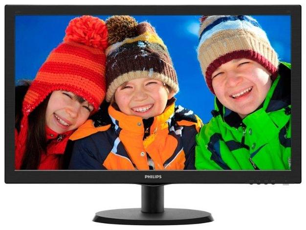 Монитор Philips 223V5LSB/62 21.5/1920 x 1080FHD/TN/VGA Черный, фото 2