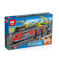 "Конструктор Lepin 02009 Cities ""Грузовой поезд"" ( аналог lego 60098), фото 1"