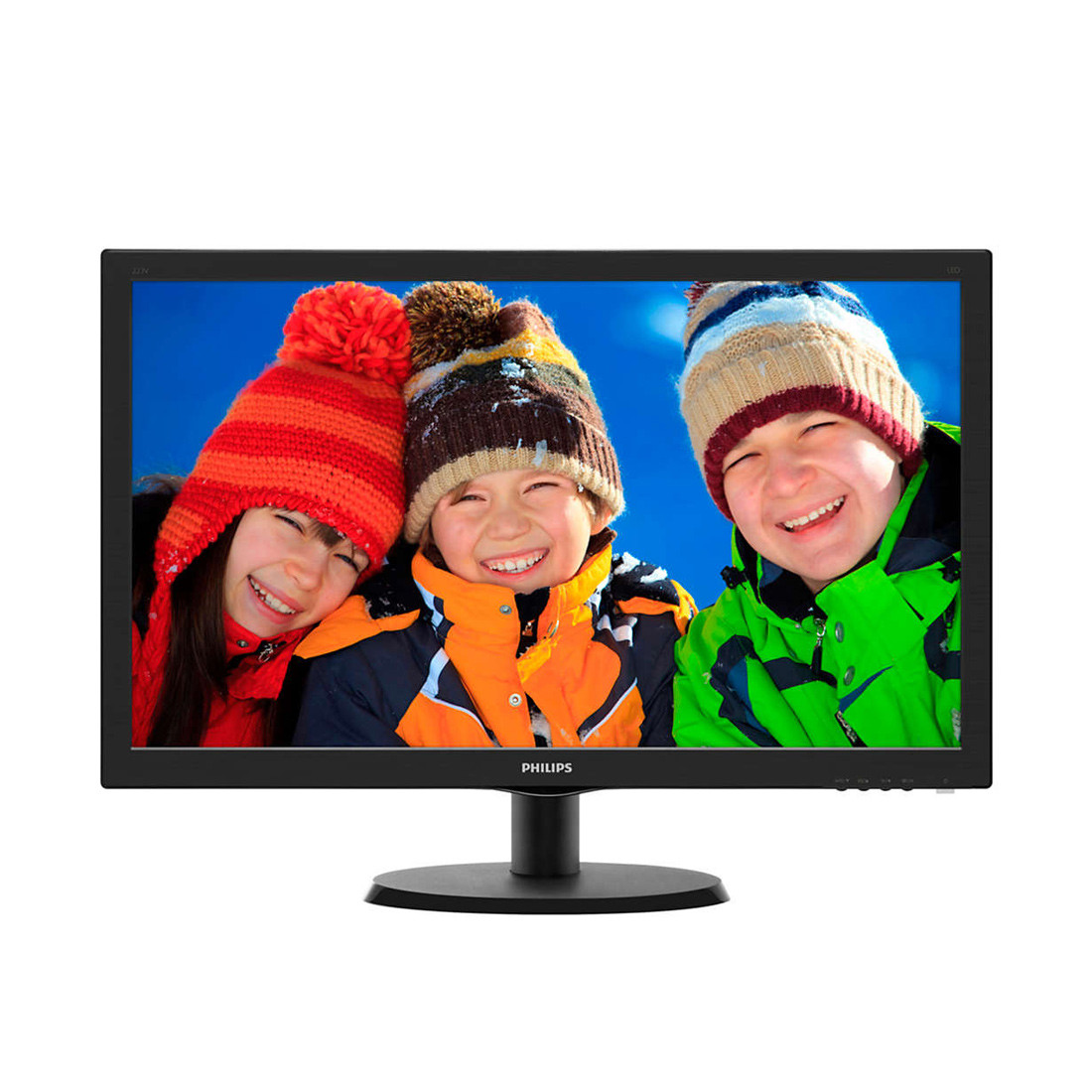 Монитор Philips 223V5LSB2/62 21.5/1920 x 1080 FHD/TN/VGA