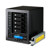 Накопитель NAS 5 x 3.5'' SATA, Intel® Celeron™, 4GB DDR3, Multiple RAID, iSCSI, USB 3.0, HDMI, шт