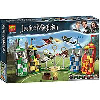 Конструктор Bela Justice Magician Матч по квиддичу 11004 (Аналог LEGO Harry Potter 75956) 536 дет, фото 1