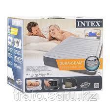 Двухспальный надувной матрас Intex 67770, 203х152х33 см