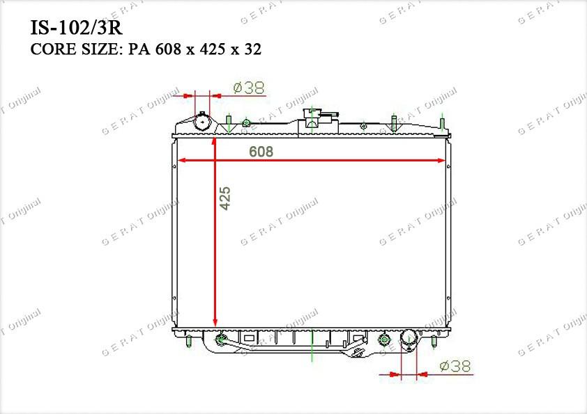 Радиатор основной 8972095530