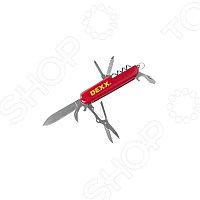 НожDEXX складной многофункциональный, пластиковая рукоятка, 10 функций