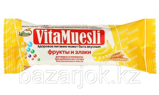 Конфета злаковая VitaMuesli с бананом