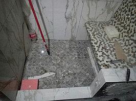 Паровая комната (хамам) в квартире. Размер = 1,0 х 1,5 х 2,3 м. Адрес: г. Алматы, ул. Бухар Жырау 22. 25