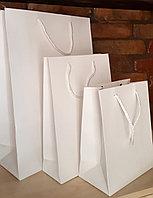 Бумажные пакеты белые А3 А4 А5, фото 1