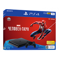 PS719763215 Sony PlayStation 4 1TB + Spider-Man