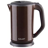 Чайник электрический с двойными стенками GALAXY GL0318 (коричневый), фото 3