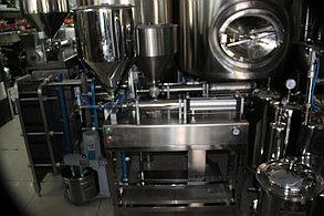 Оборудование для розлива густых, пастообразный продуктов (майонез, кетчуп и т.д.), 1 головка 1 л, с ножкой, фото 2