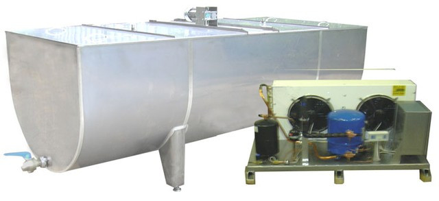 Приемка и первичная обработка молока, до 10000 банок/ч