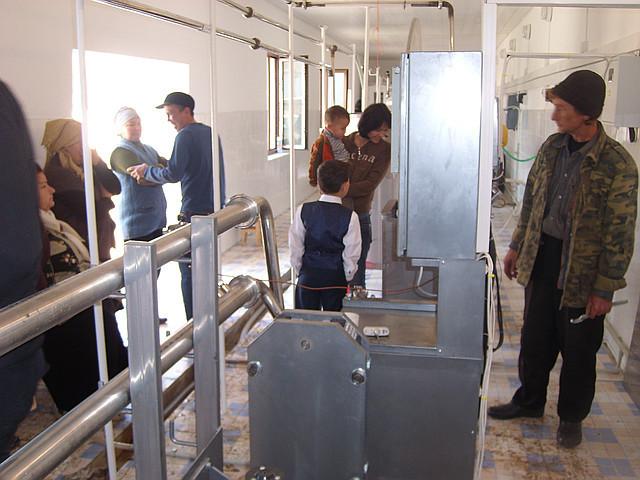 Молочный завод производительностью 500-10000 л/сутки