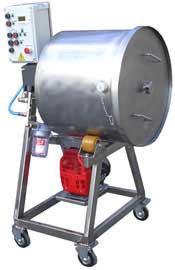 Массажер вакуумный (с переменной частотой вращения) ИПКС-107-100Ч(Н), 100 л