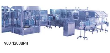 Оборудование для мойки, розлива и укупорки 19 л бутылей (900-1200 бут/час), фото 2