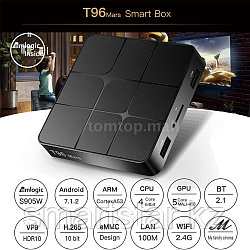 T96 Mars 2/16 Android tv box приставка