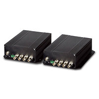 4-Channel Video over Fiber(FC) converter up to 20KM