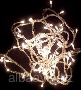 Гирлянды светодиодные, новогодние, уличные струна, нить, twinkle light. 10 м. мигающая/не соединяется