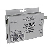 Small Size 10/100Mbps Media Converter, Ethernet to Copper or COA