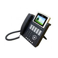 IP-телефон (H.323, SIP, MGCP), 1FXO, 2x10/100 Mbps, аудиовход и выход, IPv4/v6, SpeakerPhone, LCD 4,3'', 25 пр