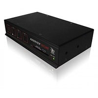 AdderView 2 Port Secure Switch with UK Power cord