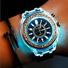 Женские часы Geneva силиконовый ремешок, фото 2