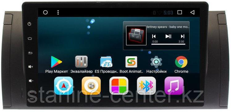 ANDROID 7.1.1 BMW E53 HD ЭКРАН 1024-600 ПРОЦЕССОР 4 ЯДРА (QUAD CORE)