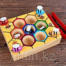 Деревянная игрушка - Пчелиный улей, фото 2